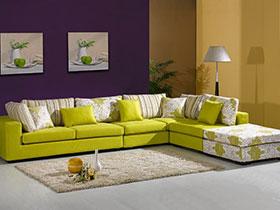9种转角沙发图片 清新舒适