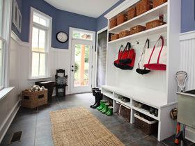 开门第一道风景 16个美式鞋柜设计