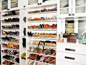 15款白色大鞋柜 简单又实用