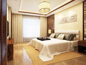 中式卧室吊顶 15图让家呼吸古典风