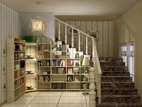 楼梯化身藏书阁 14个楼梯收纳秘籍