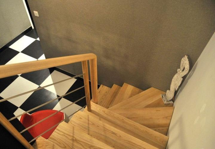 时尚复式楼 15款简约风楼梯