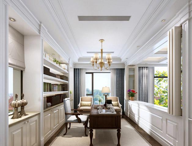 欧式风格奢华书房设计