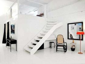 空间极致利用 13个楼梯改造书房设计