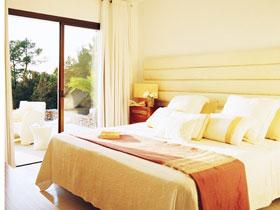 17款臥室落地窗 別具一格的地中海風格