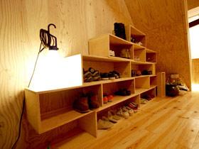 角落大有用處 13個創意鞋柜