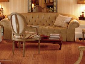橡木实木复合地板