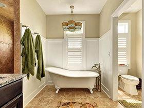 19款特色卫浴间欣赏 感受清新宜家风
