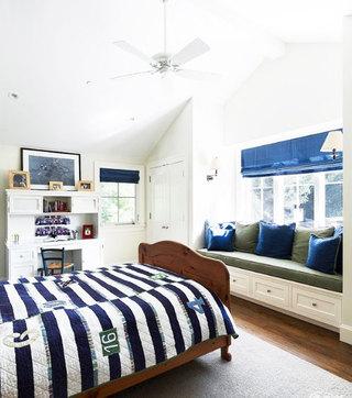 地中海风格卧室飘窗装修效果图