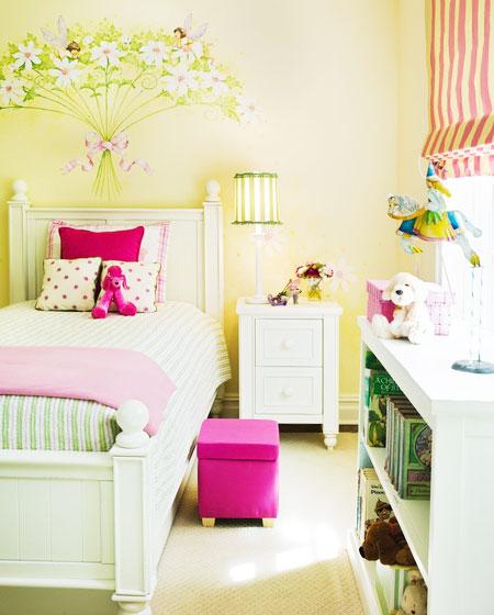 田园风格可爱卧室装潢