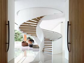 要省空间也要美貌 17款小型旋转楼梯