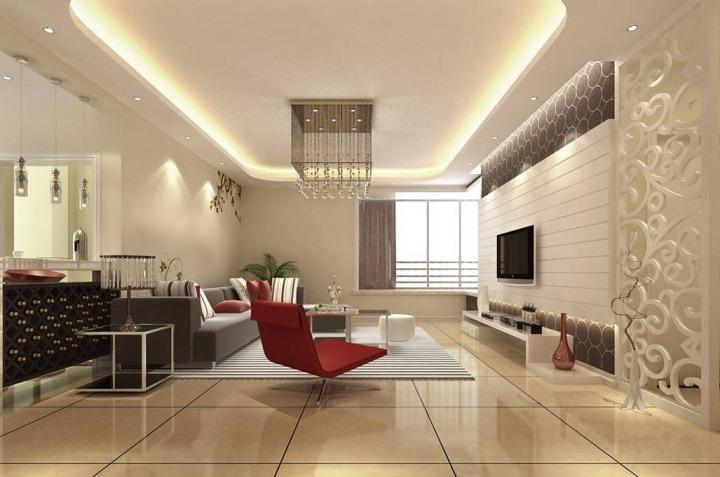 答:现在家庭客厅吊顶装修材料基本以石膏板用的的最多.