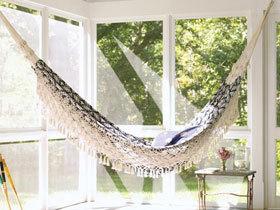 给阳台安个吊床 12图最舒适阳台设计