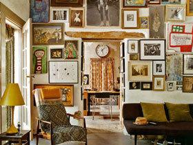 19款照片墙设计图 照片自己DIY