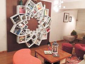 挂在墙上的书架 14款实用书架图片