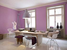 浪漫紫色情怀 15款浪漫餐厅效果图