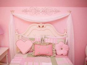 粉色公主梦 15款欧式儿童床效果图