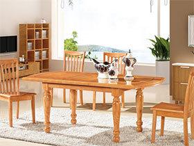 15张原木色餐桌图片 时尚清新范儿