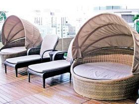 17款舒适躺椅 花园休息区必备利器