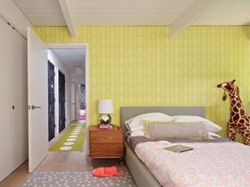 靓丽壁纸点缀 15个卧室背景墙效果图