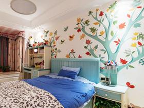 舒适安眠环境 18款卧室手绘墙设计图片
