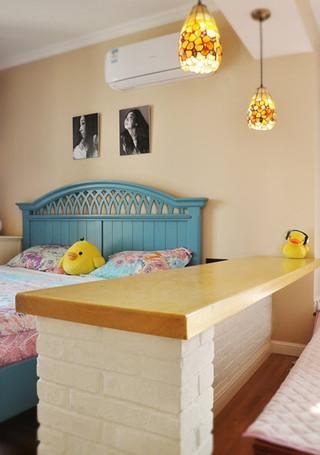 美式风格梦幻10-15万90平米儿童房设计图