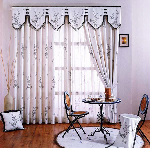 11款中式窗帘图片图片