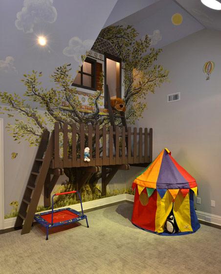 童年乐趣 18款创意儿童床图片_齐家网装修效果图图片