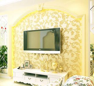 欧式风格大气电视背景墙设计图