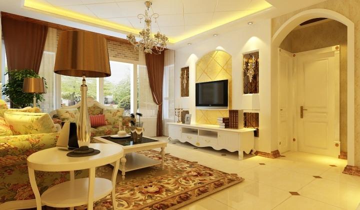 田园风格白色家具图片