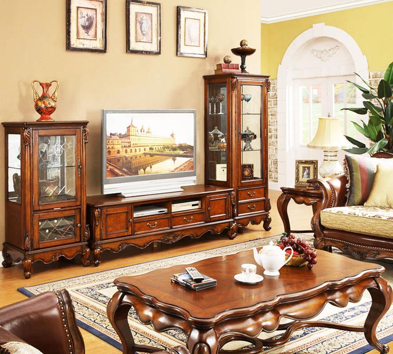 美式风格大气电视柜图片