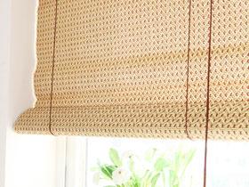 兼具雅致與實用 11款竹制窗簾圖片