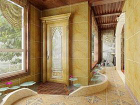 歐式古典風 17款歐式走廊裝修圖