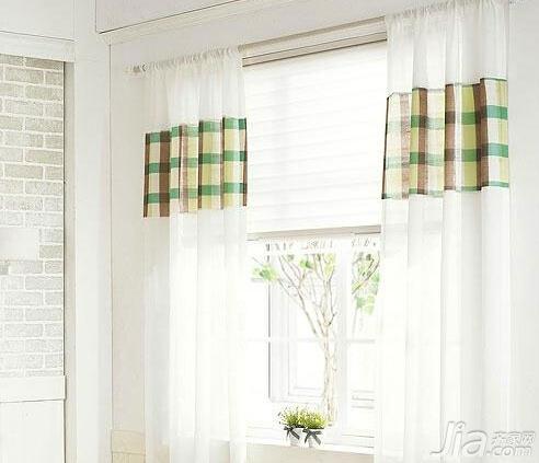 卧室飘窗窗帘效果图片三