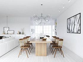 21张彩色餐桌设计图 打造清新餐厅