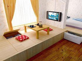 营造舒适家居 18个简约地台效果图