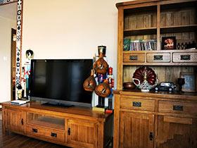 家中吹起復古風 17款復古電視柜圖片
