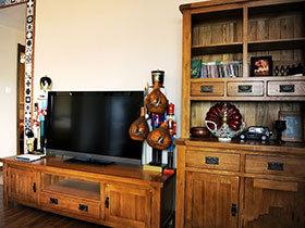 家中吹起复古风 17款复古电视柜图片