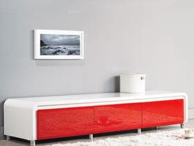 热情如火 10款红色电视柜效果图
