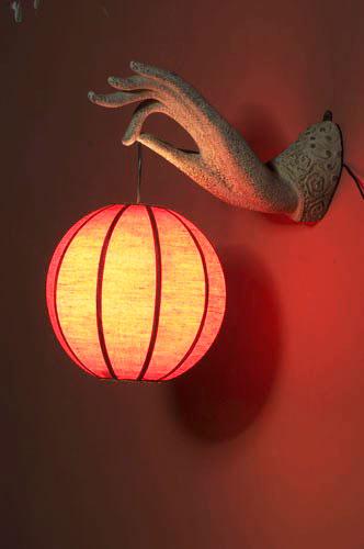 中式风格古典灯具效果图
