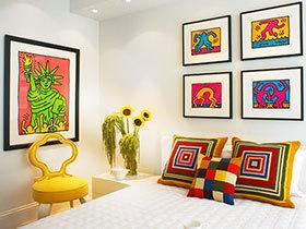 照片装饰床头 11款简易照片墙图片