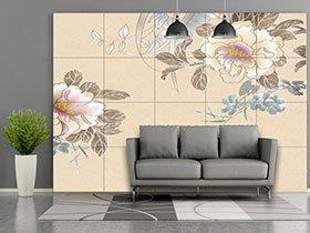 打造中式客厅 23张山水画沙发背景墙效果图
