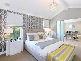 打造温柔卧室 19款清新床头软包设计