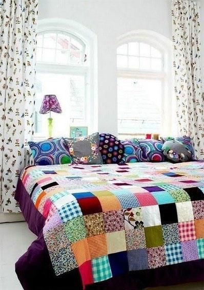 简约风格卧室窗帘窗帘图片