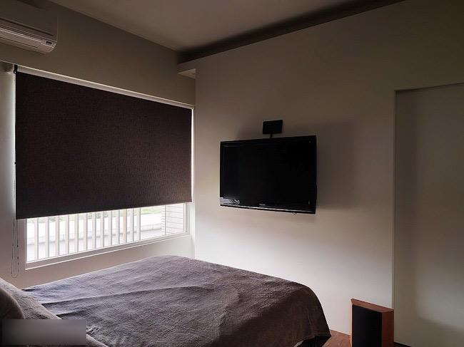 简约风格卧室单身公寓设计图舒适客厅过道装修图片