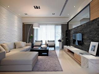 新中式三居室装修 很有品味的设计1/5
