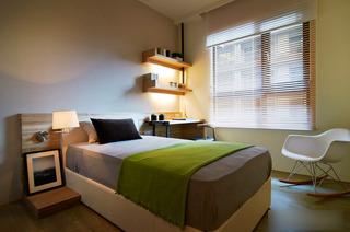 新中式三居室装修 很有品味的设计5/5