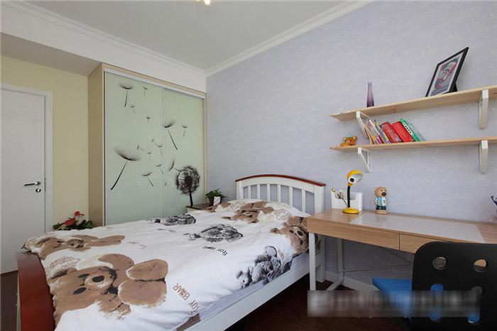 简约风格实用儿童床图片