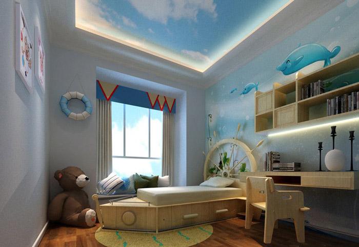地中海风格另类儿童床图片