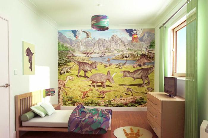 田园风格舒适儿童床图片